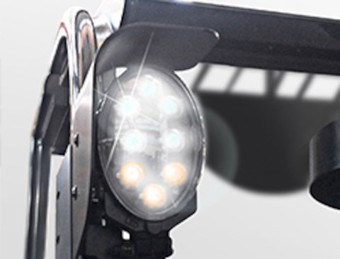 LED lights (std on Limited edition)