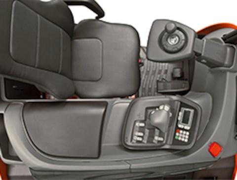 Ergonomic driver compartment