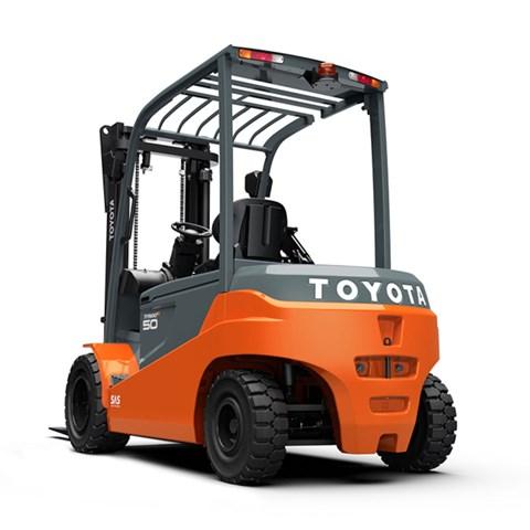 Toyota Traigo motviktstruck EL 80V, 4-hjul 5.0 ton